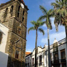 Salvado de kerk van Santa Cruz de La palma