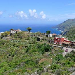 Dorpje Tablado noorden La Palma